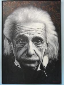 I met this intelligent chap---via painting