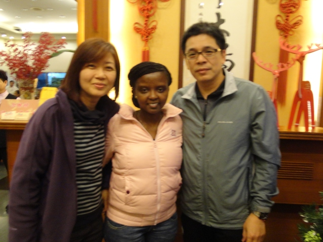 With Mr. and Mrs.Chen