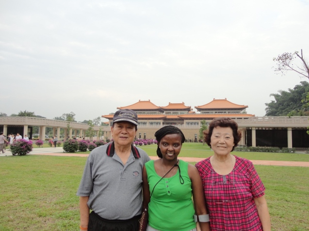 With Grand Ma and Grand Pa