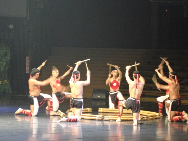 Male dancers in Action