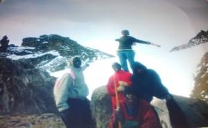 Point Lenana on Mt.Kenya