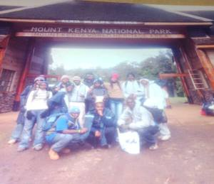 Entry at Mount Kenya National Park-A UNESCO World Heritage