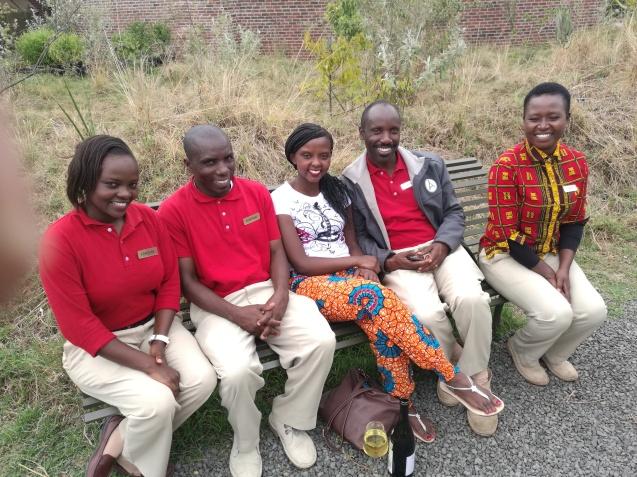 With my Angam Mara Adoptive Family-Catherine,Josphat,Azei,Terry